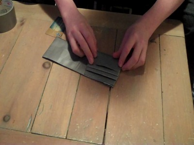 How to Make an Awesome Duct Tape Wallet!