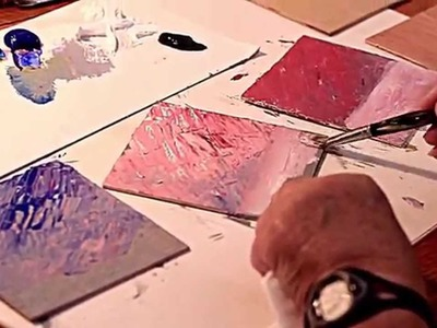 How to Paint 3 Paintings at a time-Marge Kinney