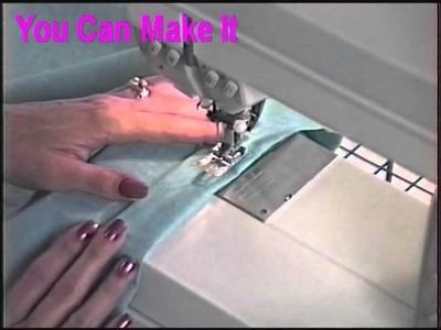 How to sew a casing