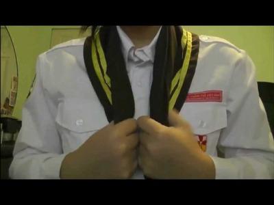 How to tie a TNTT scarf