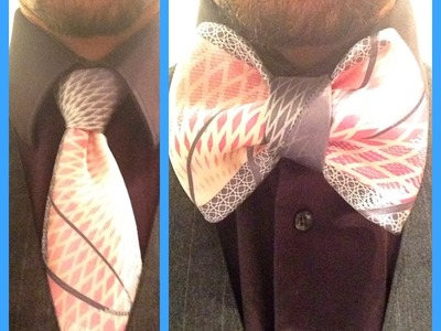 How to turn your Necktie into a Bowtie!
