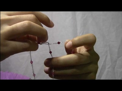 How to untangle a multistrand slave bracelet