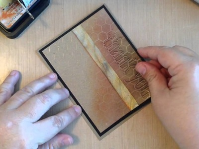 How to Use Tim Holtz Shadowpress Debossing Folders