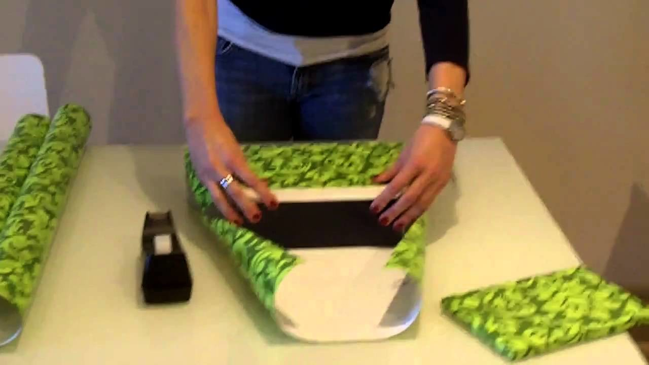 How To Wrap The Perfect Christmas Present - The Paper