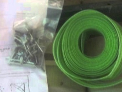 Lawn Chair Webbing Replacement Nylon Material Repair Kits For Plastic & Aluminum Folding Chairs
