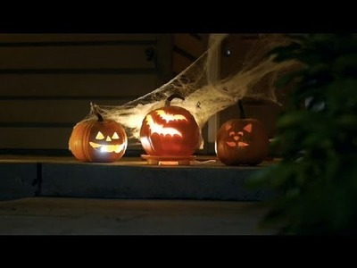 Lighting Options for Jack-O'-Lanterns : Halloween Decor
