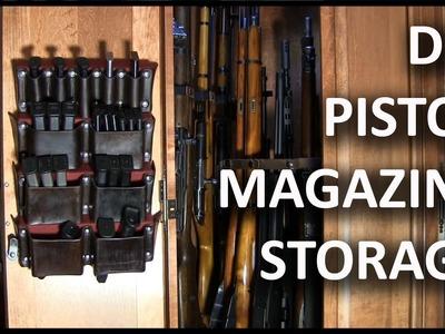 Making A Pistol Magazine Storage Rack