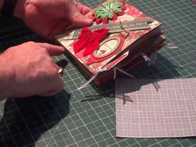 Mini Christmas Album using the Envelope Punch Board by Bland Designs