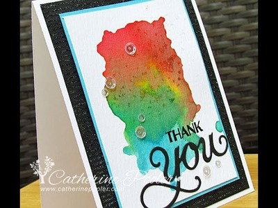 Mixed Sentiments with Antique Gratitude Reverse Stamping - Hero Arts