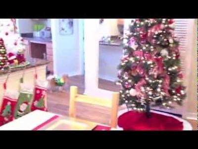 My Christmas Apartment Tour 2013