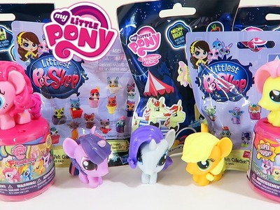 My Little Pony and Littlest Pet Shop Fashems and Blind Bags Surprise Toys Unwrapping!