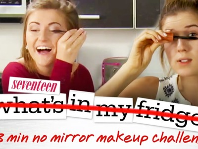 No Mirror Makeup Challenge with Meghan Rosette!