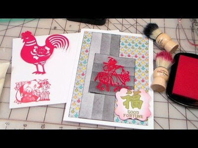 Ombre inking how to