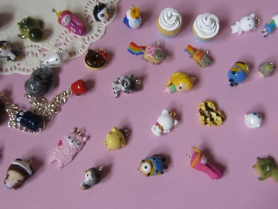 Polymer Clay Charm Update #15 - Adventure Time, Remakes & More!