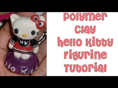 Polymer Clay Hello Kitty Figure Tutorial Part 1