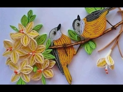 Quilling Made Easy # Learn How to make Quilling Flower -Paper quilling Art