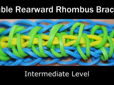 Rainbow Loom® Double Rearward Rhombus Bracelet