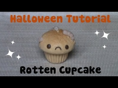 Rotten Cupcake  ● Halloween Polymer Clay Tutorial
