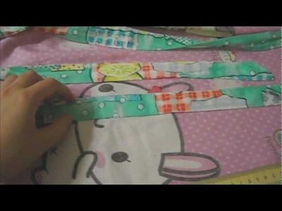 Sewing Tutorials with Sasa: Asian Style Apron Part 2