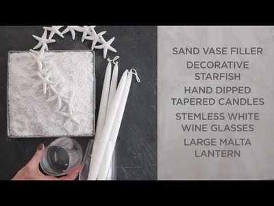 Summer Decor Ideas using Lanterns and Tapered Candles   Pottery Barn