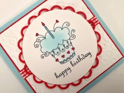 Sweet Tweets Happy Birthday Card