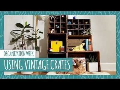 Upcycle Vintage Crates 3 Ways - HGTV Handmade