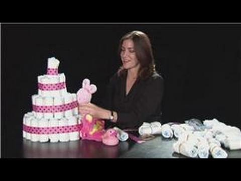 YT - Baby Showers : Couture Diaper Cakes