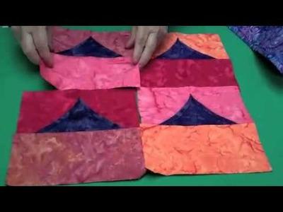 5-Minute Blocks Flying Geese Pillow Top
