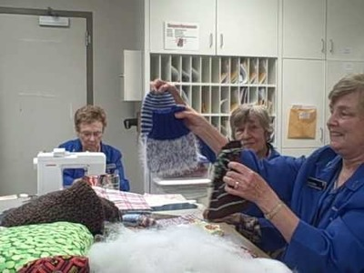 A Labor of Love: Mayo Clinic Volunteers touch patients and their families through their handiwork