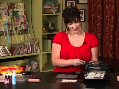 Big Shot Letterpress Plates by Stampin' Up!