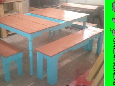 Build a Pallet Table Video 1 of 2 - 082