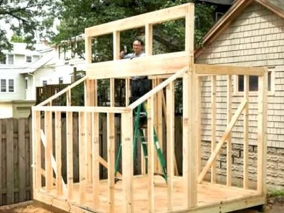 Building a Clerestory Shed