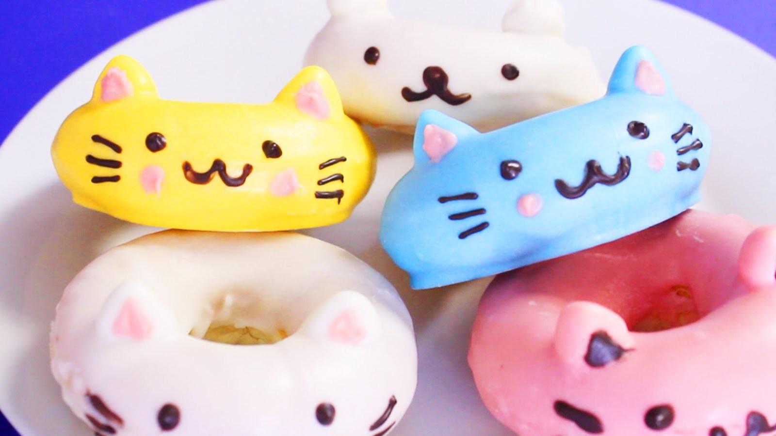 CAT DOUGHNUTS!