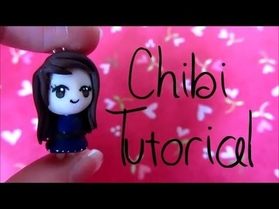 Chibi Tutorial: Polymer Clay Charm :)