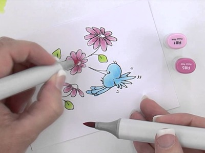 Copic® Coloring Guide - Copic Marker Project Demonstration