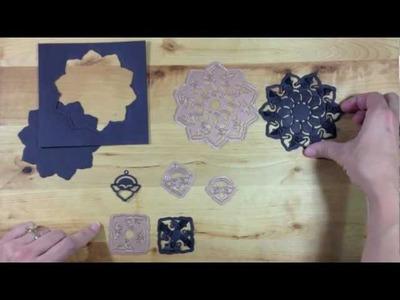 Creating with Spellbinders™ Shapeabilities® Cut • Fold • Tuck Die Templates