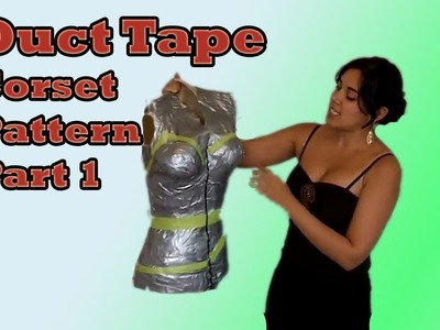 Custom Corset Pattern using Duct Tape   Lucy's Corsetry
