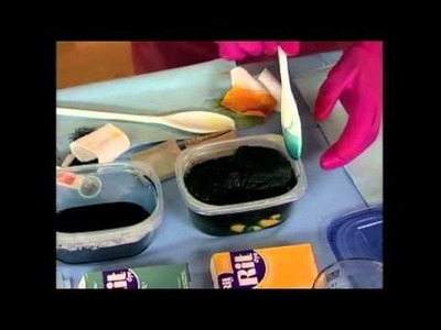 Dyed Batting Tutorial On Quilting Arts TV