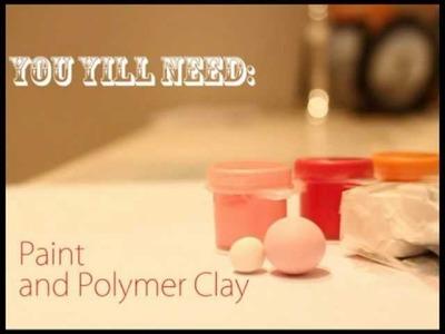 ◕‿◕ Kawaii Friday 10- Bubble Tea! -tutorial in Polymer clay