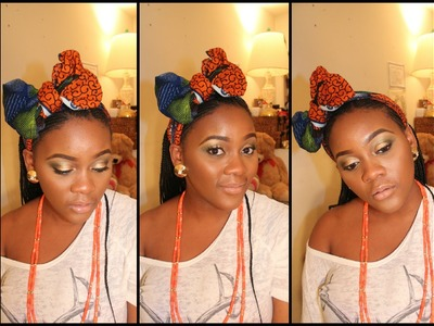 Easy Bow Tie Tutorial with Ankara Material