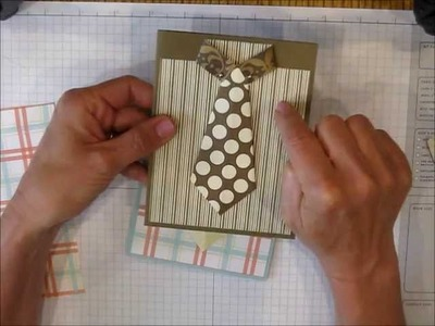Easy Shirt with Tie card