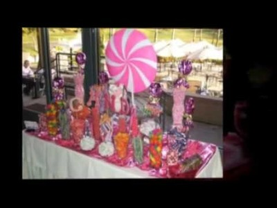 Emily's PINK Sweet 16 & Pinkalicious Custom Candy Buffet Bar