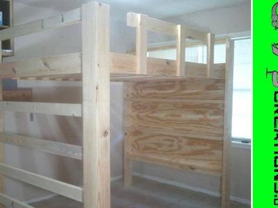 Full Size Loft Bed Video 6 - 063