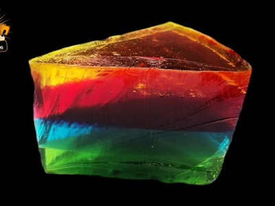 GIANT GUMMY RAINBOW CAKE