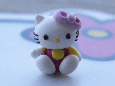 Hello Kitty: Polymer Clay