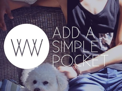 How to Add a Simple Shirt Pocket
