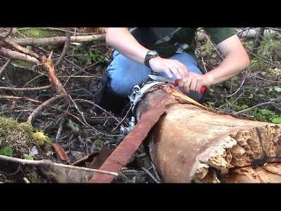 How to: Birch Bark Sheath