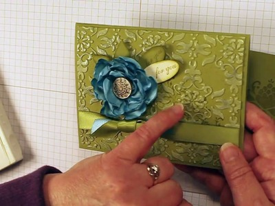 How to Double Emboss with Stampin' Up!