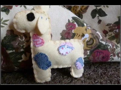 How to Make a cute 'Patchwork Giraffe' Plush