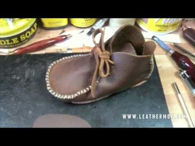 How To Make A Shoe Out Of Leather